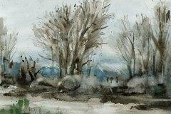 2017-Aquarell-Fluss-im-Winter_Marofke-B1500Px
