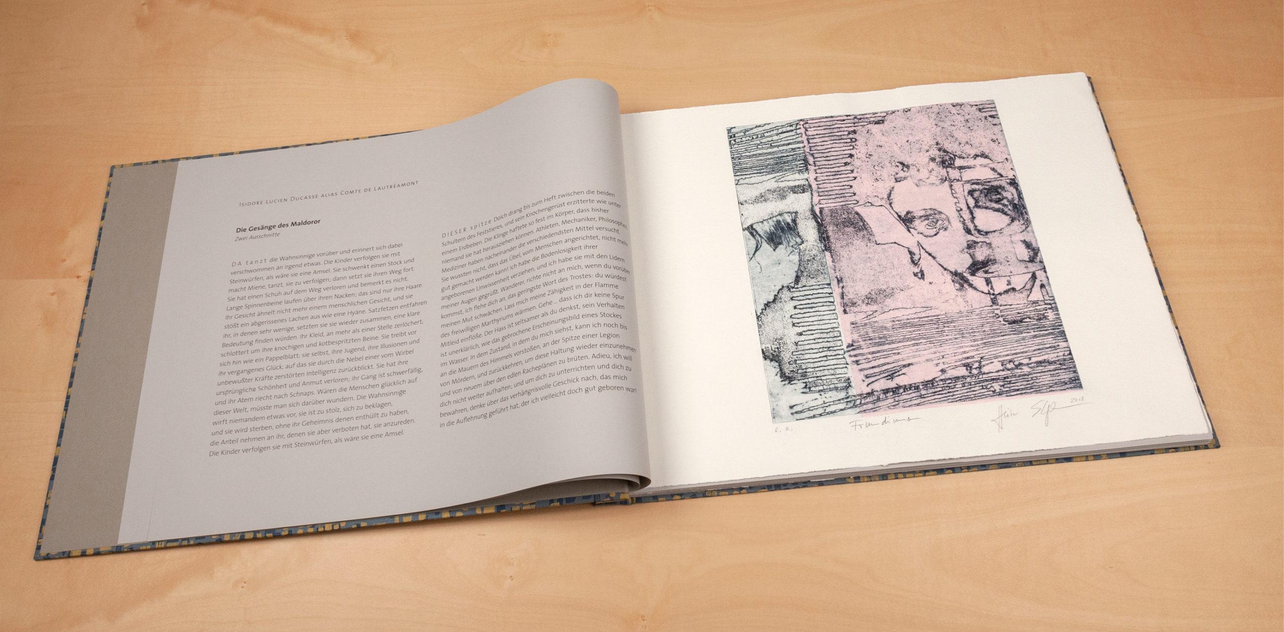 Originalgrafisches Künstlerbuch